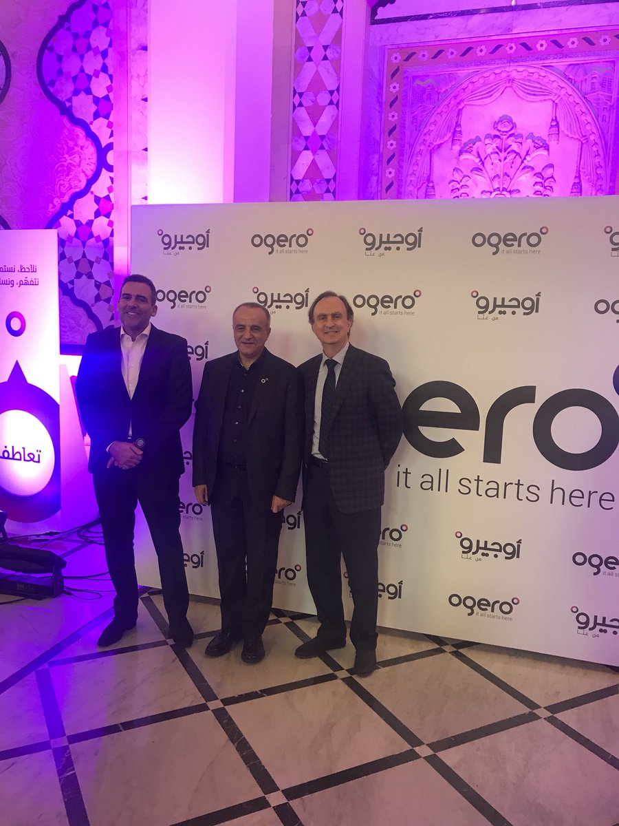 The new @OgeroTelecom has one main focus, deliver world class services to the people, we are happy to support them in this mission! @ikreidieh #CustomerExperience https://t.co/Rkvb41WEaa