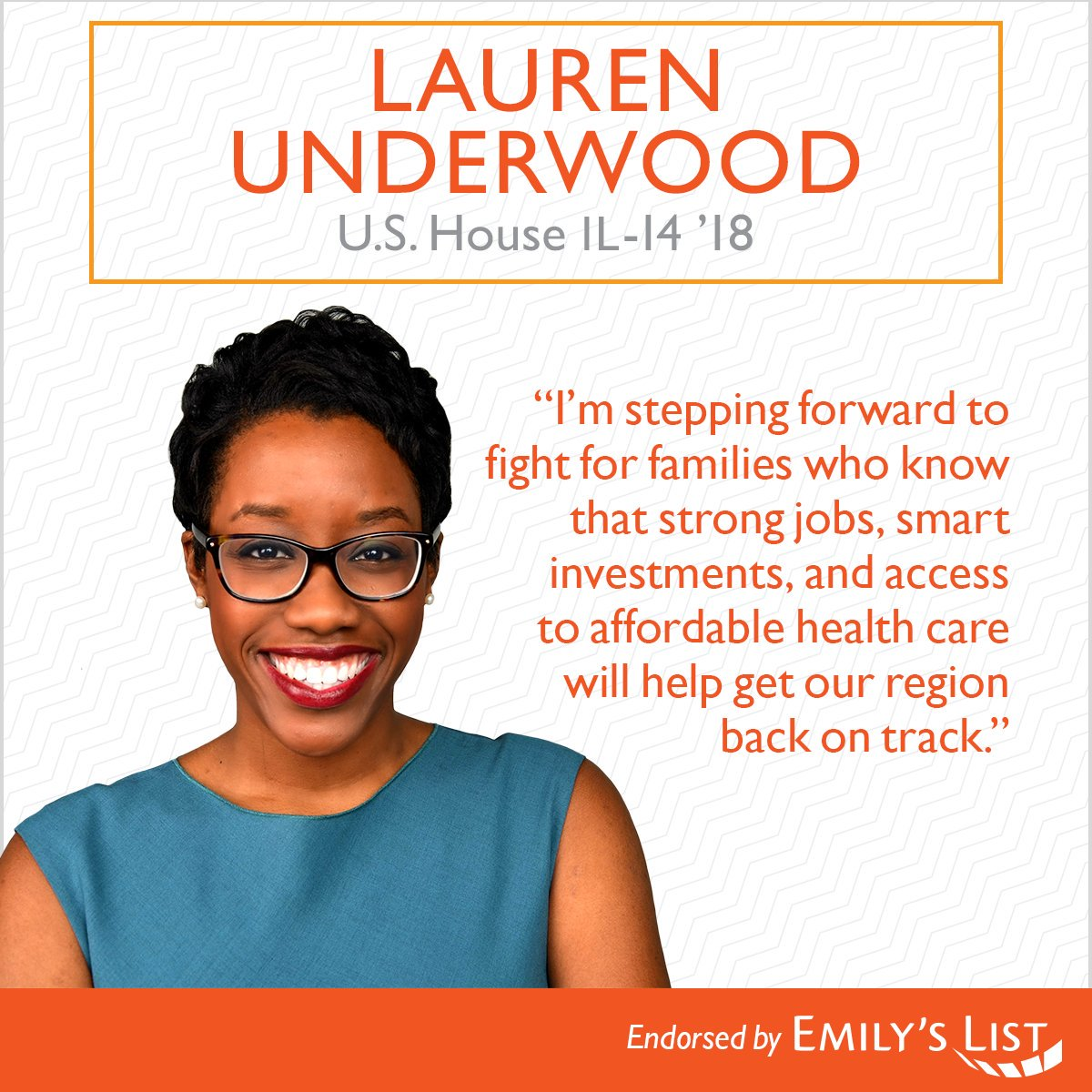 Are you registered to vote? vote.org   Last day to register to vote in IL: 2/20 Election Day: 3/20  FOLLOW: ➡️ @LUnderwood630 SUPPORT: ➡️ tinyurl.com/y89gntu4  VOLUNTEER: ➡️ underwoodforcongress.com/volunteer/  #TuesdayThoughts  #MorningJoe #COTD #bluewave2018🌊 #IL14