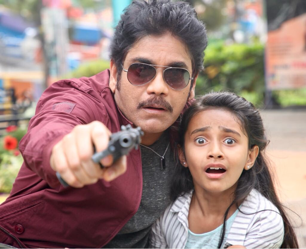 King Nagarjuna gearing up for some Grand Action sequence
