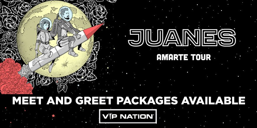 Don't miss your chance to MEET @juanes i...