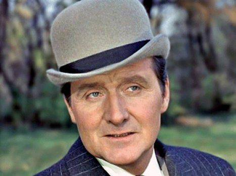 Remembering #PatrickMacnee (RIP), known best on television for his role as secret agent John Steed in the spy-fi series #TheAvengers, btd 1922.<br>http://pic.twitter.com/QmhsVxMQ0g