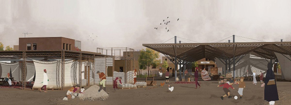test Twitter Media - Check out the incredible designs from @archstorming  Mosul Post-War Camp competition! All the architectural designs promote humanitarian aid and social reintegration, essential for rebuilding lives! https://t.co/IWbuCBCWf9 https://t.co/1MGvIlEjP8