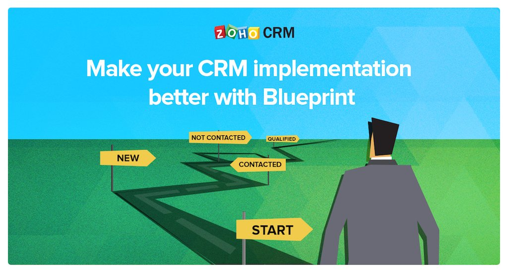 Zoho crm on twitter its easier to find your way with a map blueprint lets you define the best pathway for any sales process mapped with signboards and transitions learn how httpzohoimp blueprint malvernweather Choice Image