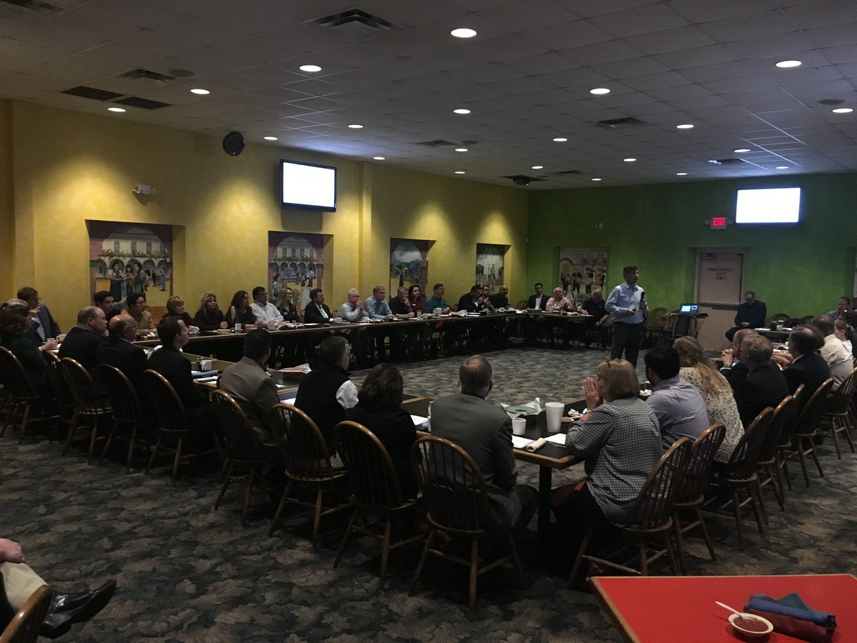 This morning the Corpus Christi Regional Economic Development Corporation hosted its monthly breakfast. JD & Luis from my office attended and delivered a report that more than $3 billion in bonuses have been given to American workers as a result of the Tax Cuts and Jobs Act.