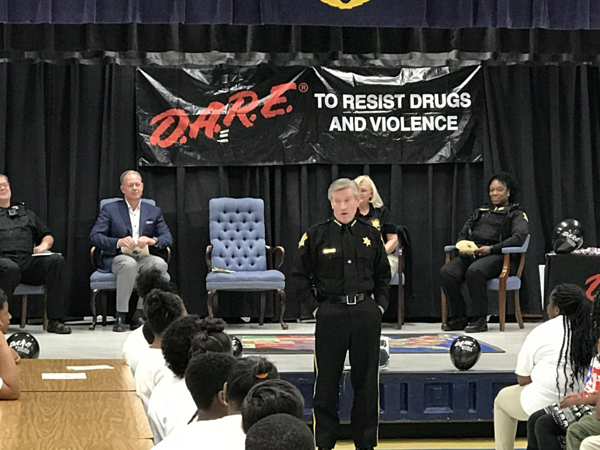 This Donation Will Cover All Costs Of The D.A.R.E Program In Richland  County Where 8,000 Kids Will Participate. The D.A.R.E Mission Is Teaching  Students ...