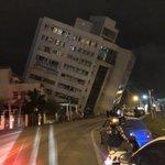 台湾の地震被害、ビルが倒壊寸前・・・これ以上被害が増えませんように・・・
