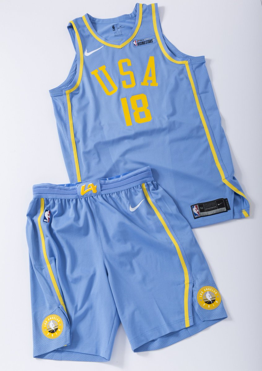 0d16024c9a6 The WORLD design pays tribute to Clippers  1970s-era Buffalo Braves uniforms