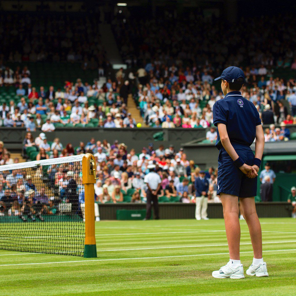 Our Ball Boy and Girl training has begun for 2018 ��  Centre stage awaits... #Wimbledon https://t.co/3RxXI6uOY4