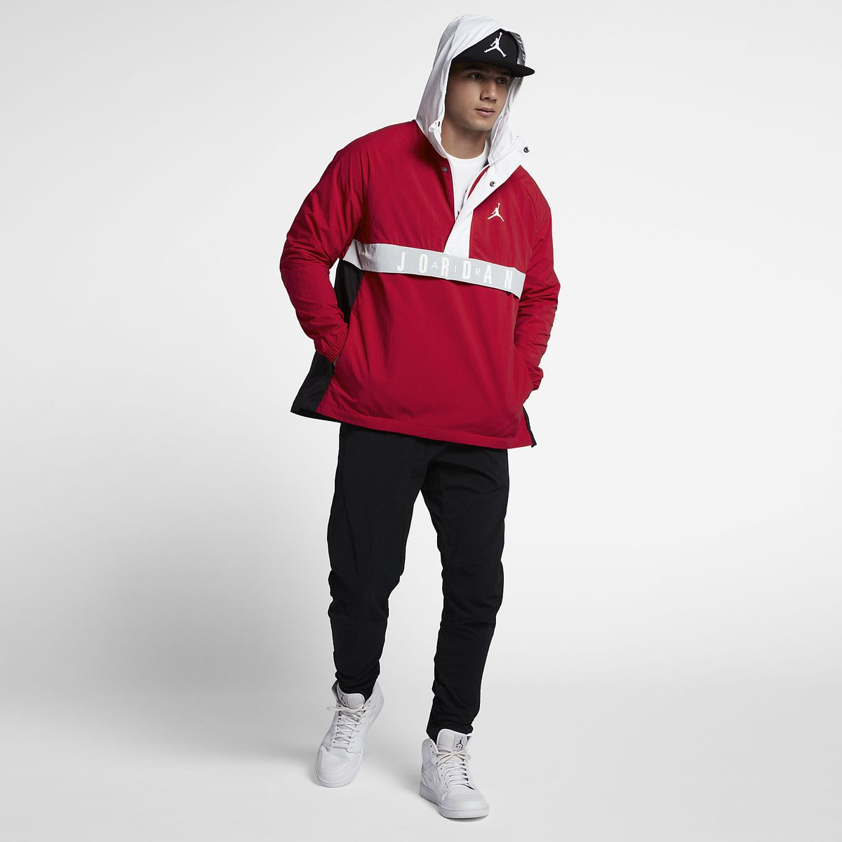 520022bb199 Air Jordan Anorak Jacket 'WINGS' is NOW available in 3 colors! ->  http://bit.ly/2yTUdq1 pic.twitter.com/vEKT3LxCef