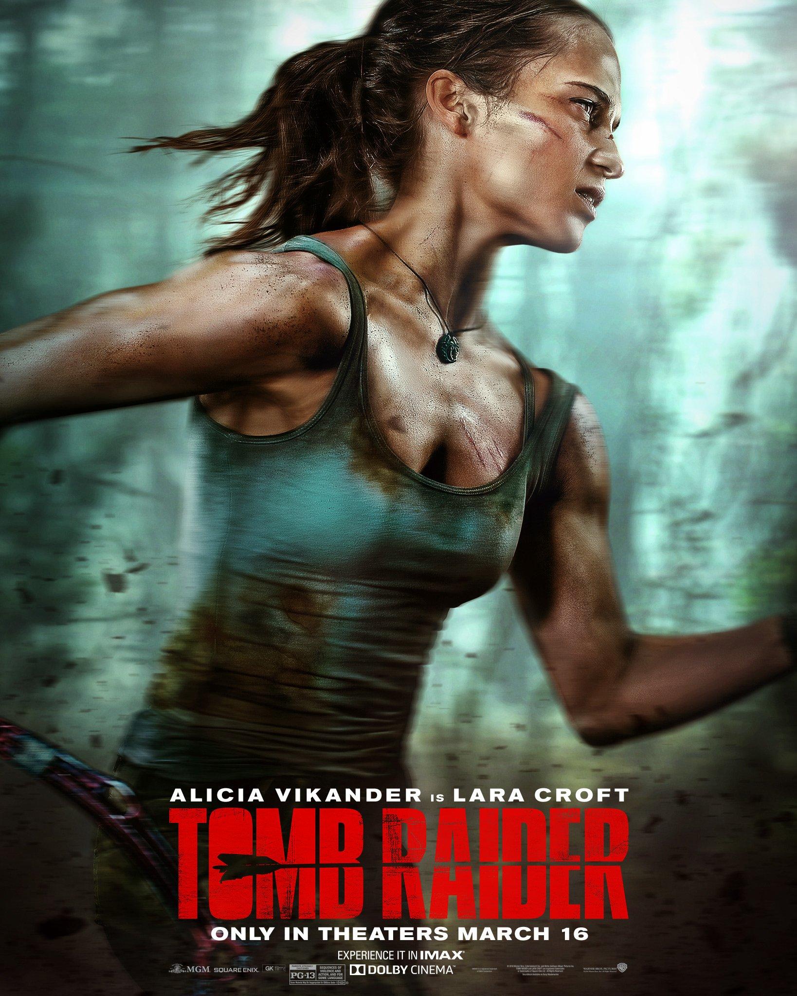 Resultado de imagem para Tomb Raider volta às telas com muita ação