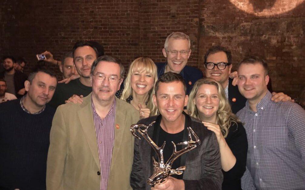 YAS team RadioHeads won! @centrepointuk @theJeremyVine @sarajcox @AlanCarr @MeganCarver @Unlucky_Gary_ 🎉🎉 🥇 https://t.co/lpKlTott5H