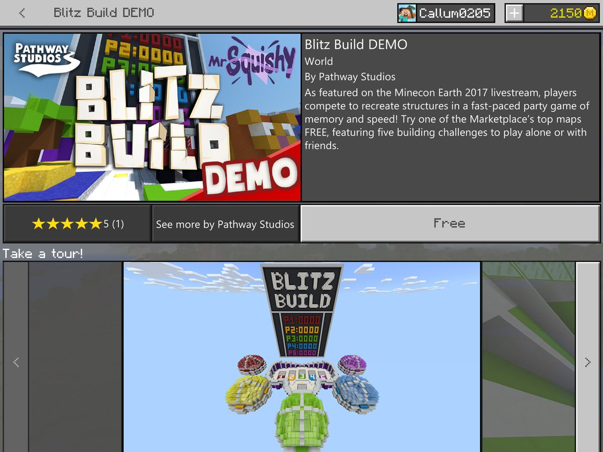 Mcpe beta 13 on twitter demo versions have now officially been mcpe beta 13 on twitter demo versions have now officially been introduced for minecraft marketplace content the blitz build world by pathwaymc is now publicscrutiny Choice Image
