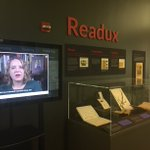 Excited to be a part of #Emory's new Readux exhibit! Come check it out on 3rd floor of Woodruff Library. I used Readux technology in my class to digitally access old texts for teaching & annotating work on #medicinalplants!