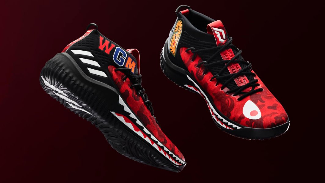 7f5ec38c88abc8 the bape x adidas dame 4 has an exclusive colorway for all star weekend