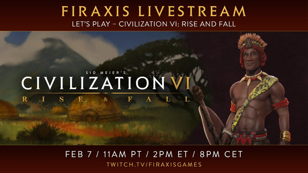 Civilization VI: Gathering Storm on Twitter: