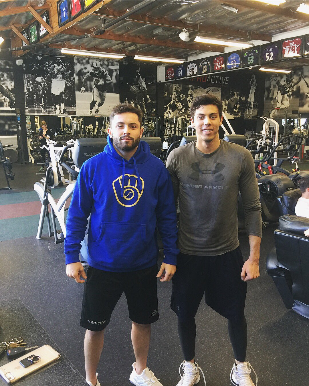 baker mayfield on twitter quotmy dude christianyelich made