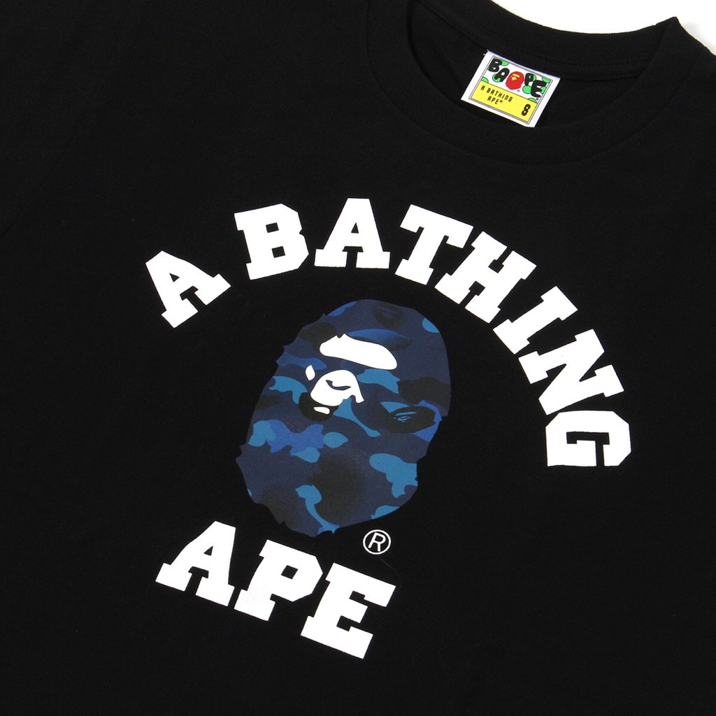 4e1ec495a BAPE Gradation Camo College Tee is Now Available in multiple color prints  in our Cambridge store http://bit.ly/2FShMP1 #cncpts #bapepic.twitter.com/  ...