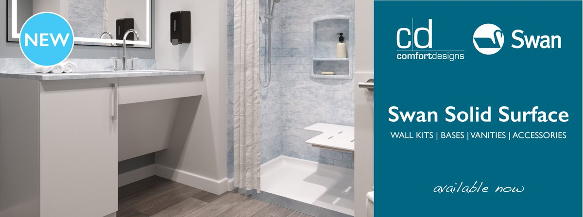 Swan Solid Surface Is Now Available Through Comfort Designs   Your One  Source For Solid Surface. Check Out  Http://www.comfortdesignsbathware.com/Swan To ...