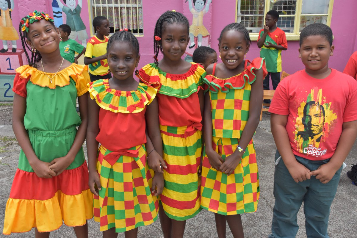 """Discover Grenada on Twitter: """"National Colours Day in Pure ..."""