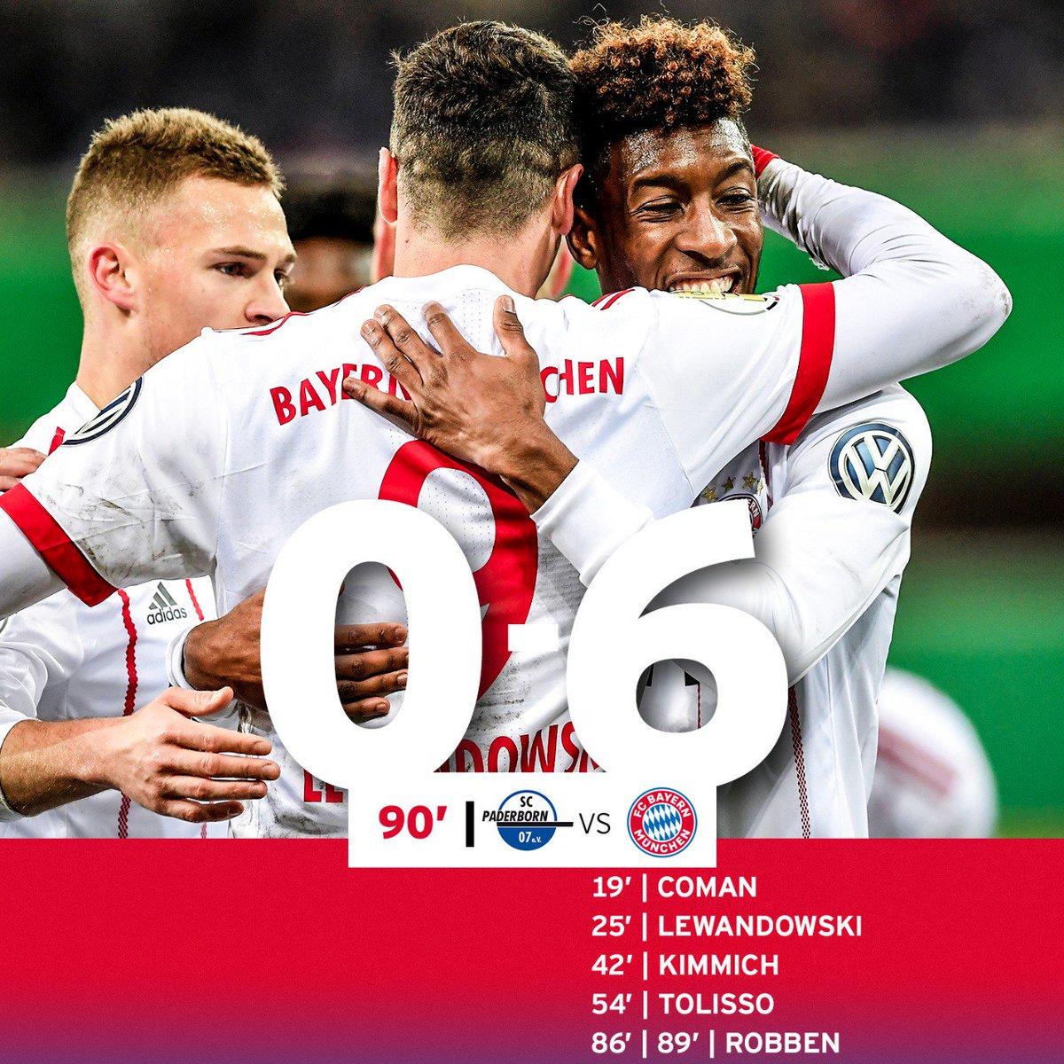 Halbfinale 👊🏻 @DFB_Pokal @FCBayern #MiaS...