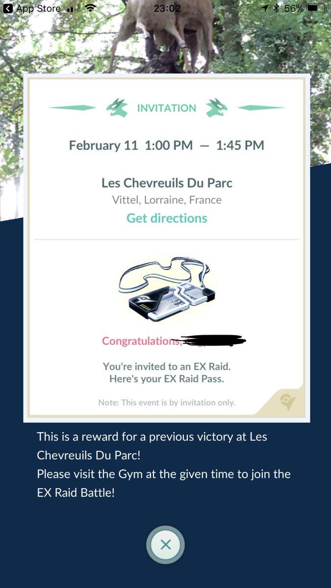 ex raid invite