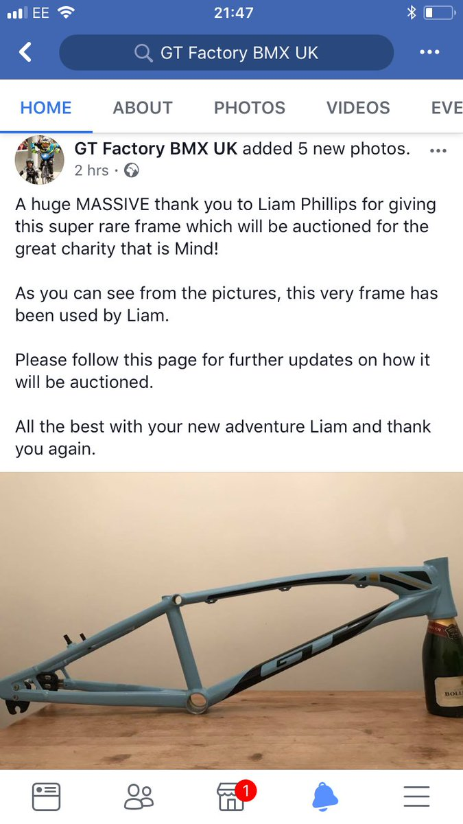Gt factory racing uk gtfactory twitter go follow gt factory bmx on facebook for update on how to win liamphillips65 frame for the charity that is mind we will also post updates here jeuxipadfo Gallery