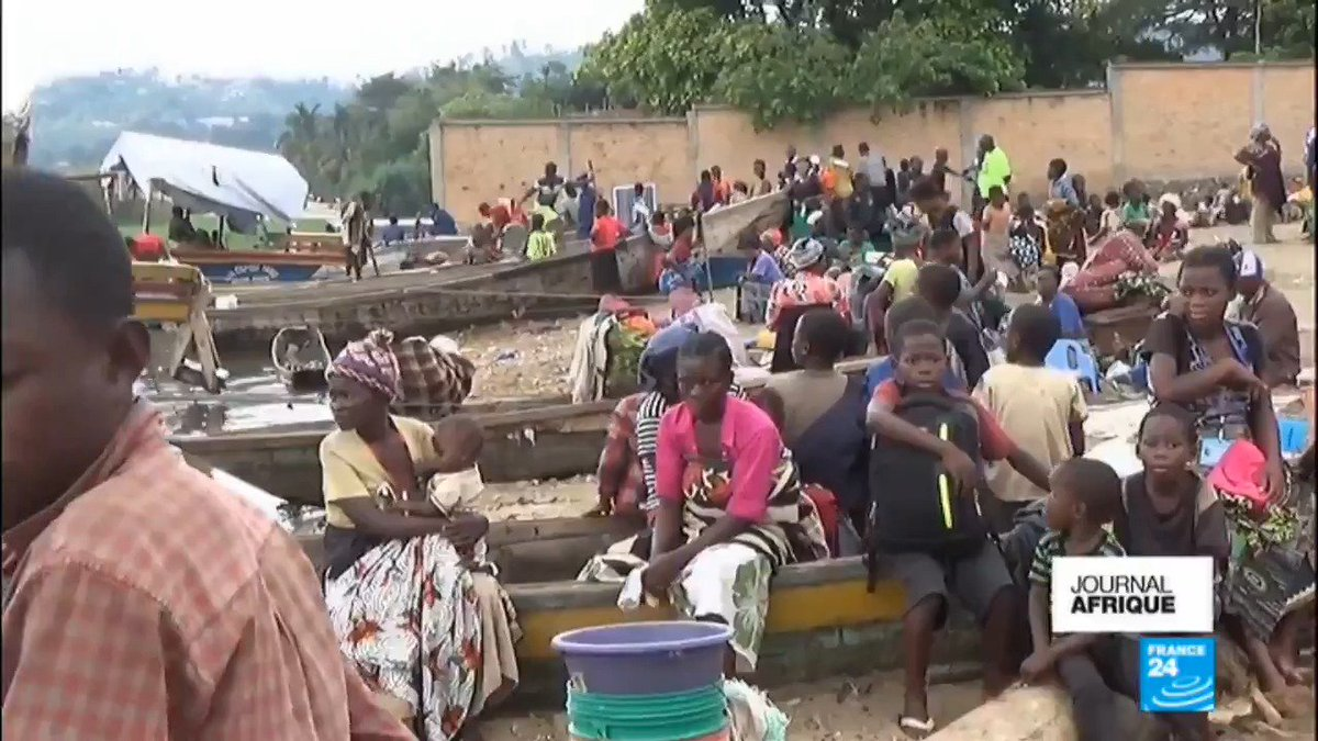 Environ 7 000 Congolais ont fui les comb...