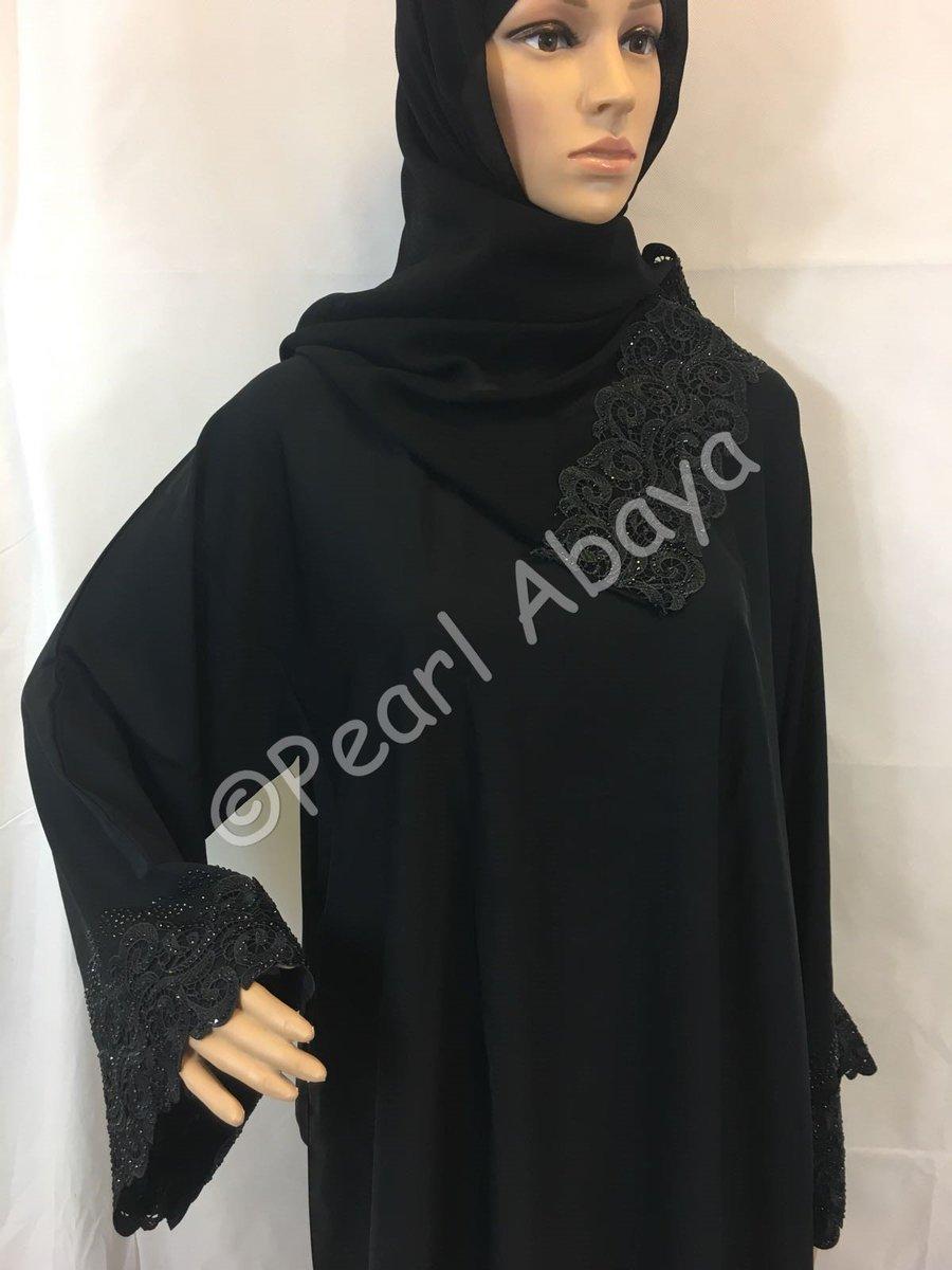 afb9e827ae37c Closed abaya made from quality Nida material. £40 #pearlabayauk #pearlabaya  #abaya #openabaya #abayas #fancyabaya #abayaat #kimono #elegant #hijab  #jilbab ...