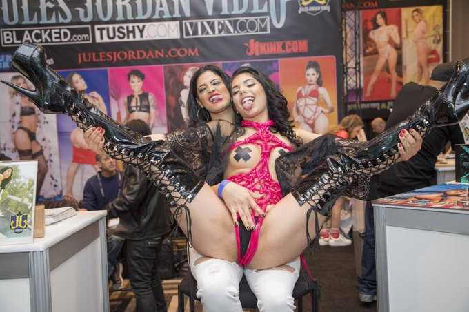 2 pic. Some of my fav pics from our booth at AVN! https://t.co/iTMghibzX5