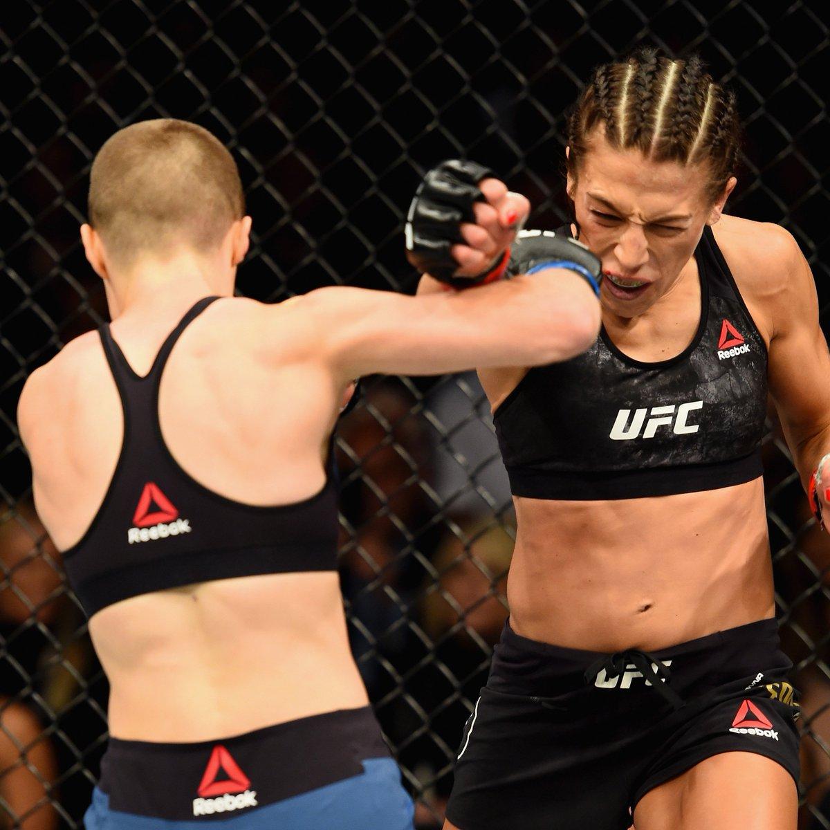 THUG ROSE! 🏆 @RoseNamajunas defends her title vs Jedrzejczyk in Brooklyn. Tickets on sale Friday. #UFC223