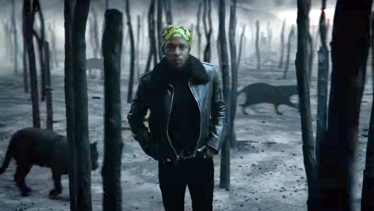 Kendrick Lamar, SZA All The Stars Music Video