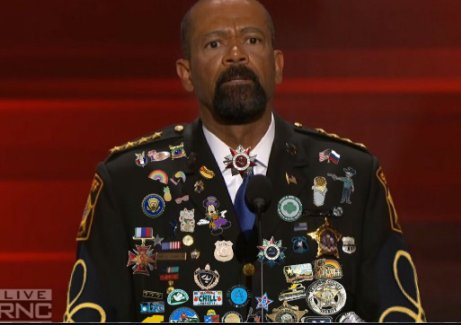 Image result for sheriff clarke