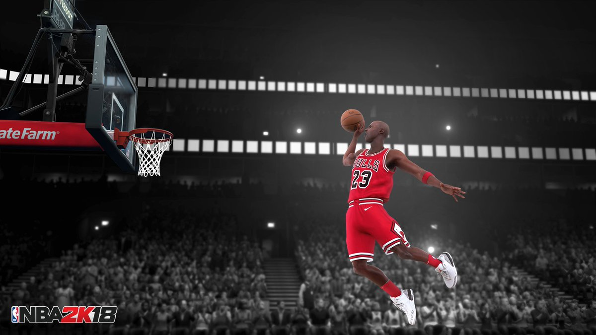 Michael Jordan Took Flight From The Free Throw Line And Became A Legend Jumpman23pictwitter IxmmDv0ppW