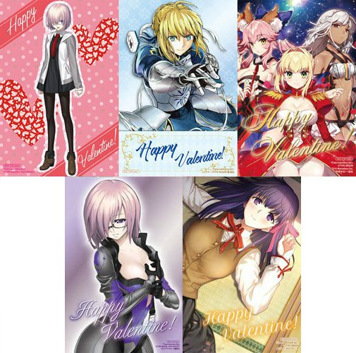 Aniplex Usa On Twitter These Fate Grand Order Valentine S Day
