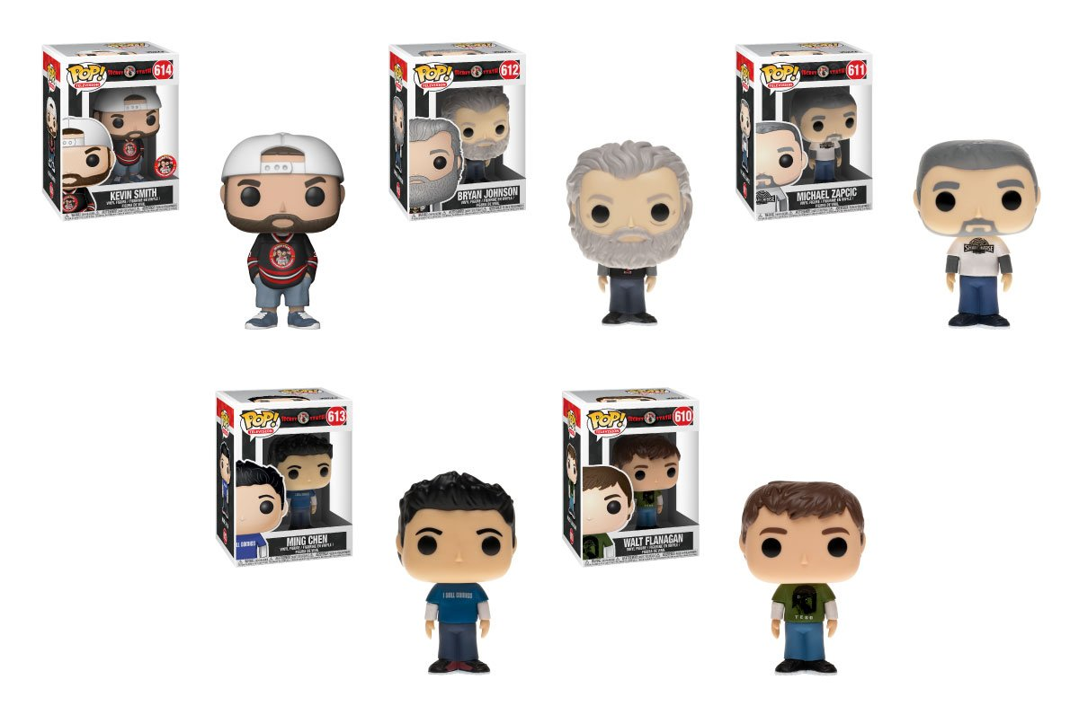 RT & follow @OriginalFunko for a chance to WIN a set of @The_SecretStash  exclusive Pop!s, including Kevin, Ming, Mike, Walt & Bryan!