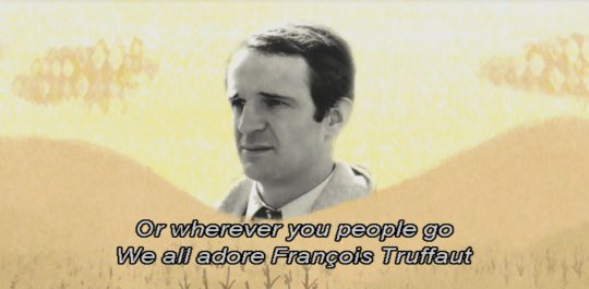 Happy birthday to Francois Truffaut! (Your Friend the Rat, 2007)