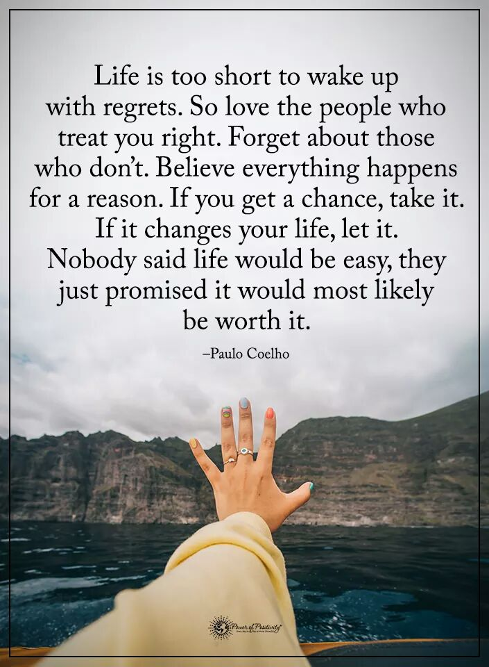 Danial Zahoor On Twitter Life Is Too Short To Wake Up With Regrets