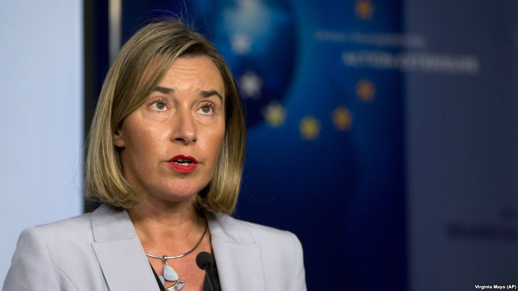 The six Western Balkan countries that remain outside the European Union could join the bloc 'in our generation,' says EU foreign policy chief Federica Mogherini. https://t.co/sfiY5ctmT6