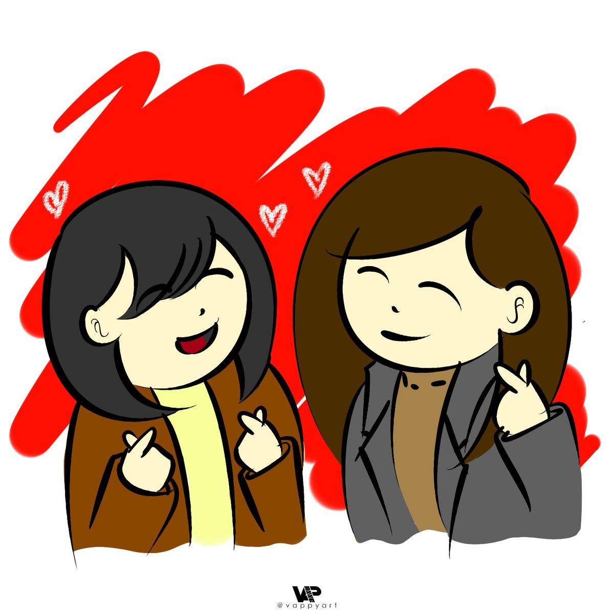 해피 발렌타인 데이!   Happy Valentines Day Buddies! Well vappy is a bit busy as of the moment so I can only make soft arts rn. . .   #여자친구 #GFRIEND #은하 #eunha #소원 #sowon #팬아트 #fanart #버디 #원하 #wonha<br>http://pic.twitter.com/bUjI4Bwyp4