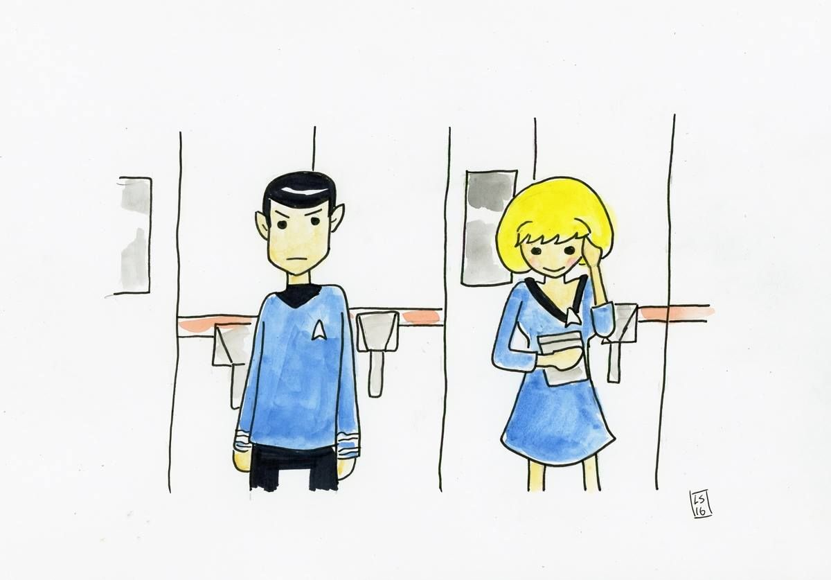 And another one from the Star Trek Scrib...