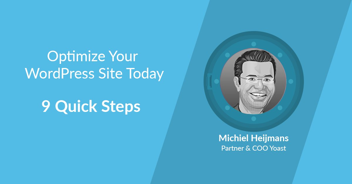 """Plesk on Twitter: """"Optimize your #WordPress site in 9 simple"""
