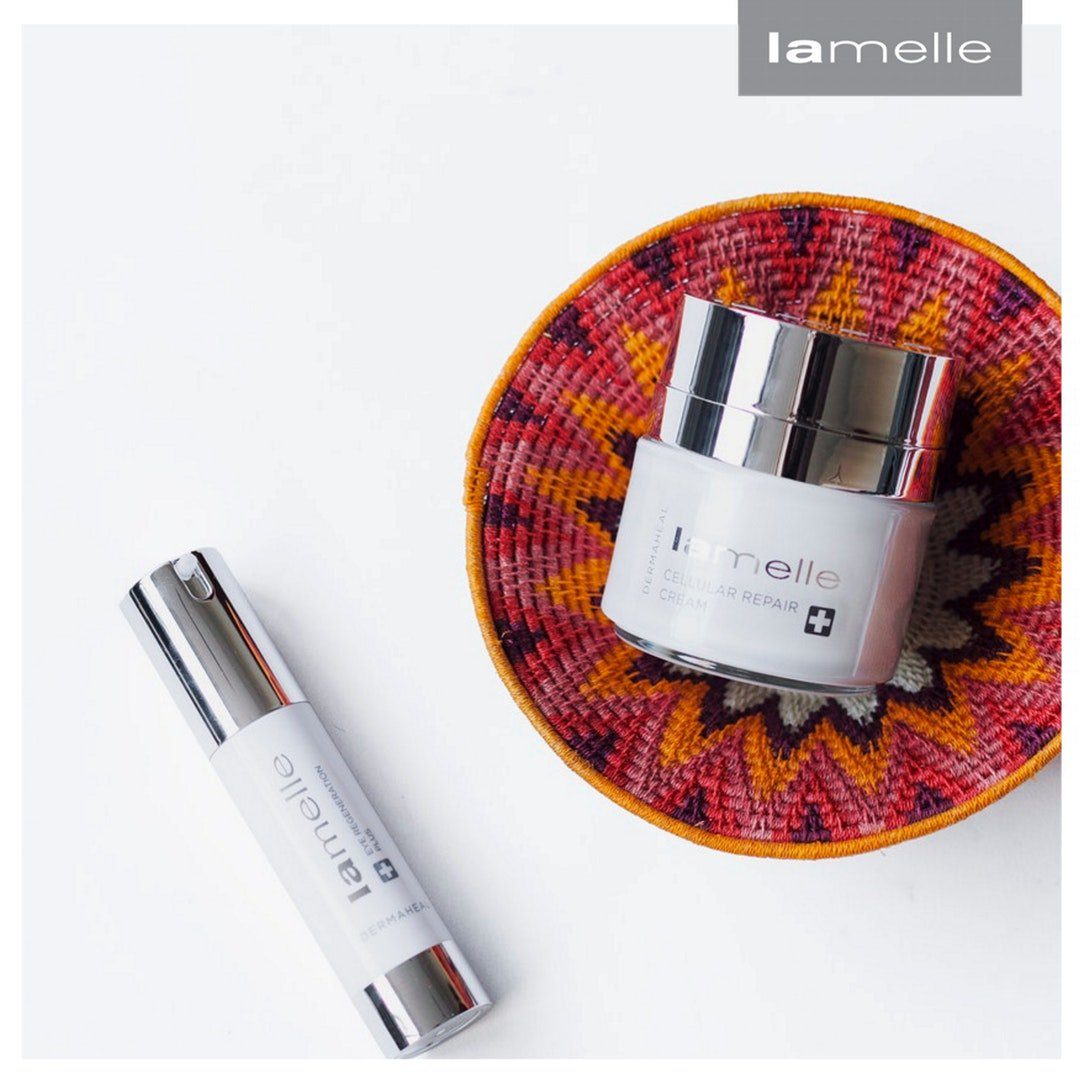 Did you know that Dermaheal's ingredients unique blend of cytokines and growth factors mimic those found in your skin naturally? #Lamelle