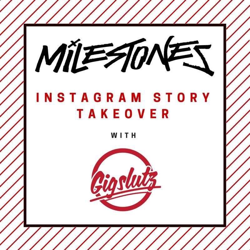 @UKMilestones are taking over our Instagram stories from just before 1pm - 3. Head to Instagram.com/Gigslutz to join them on their video shoot