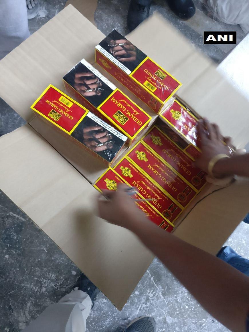 DRI registers cigarette smuggling case