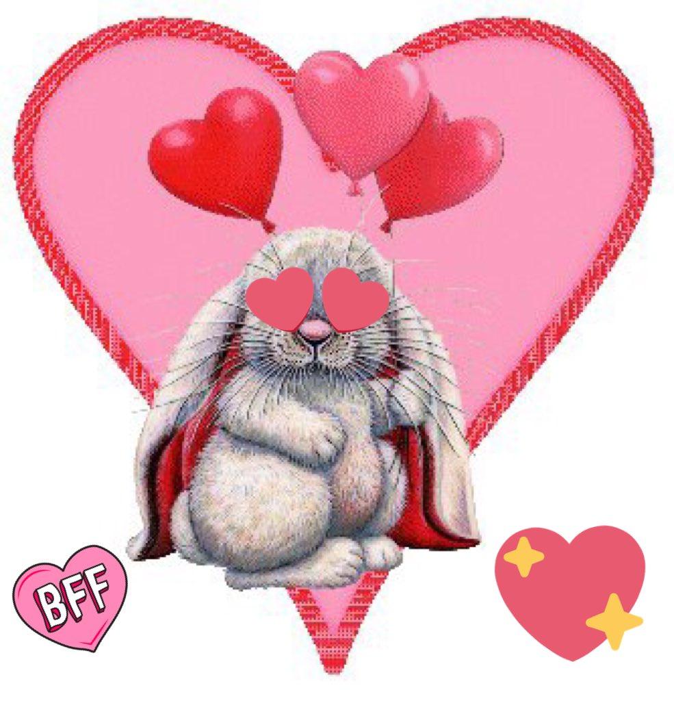 Валентинки в картинках анимация
