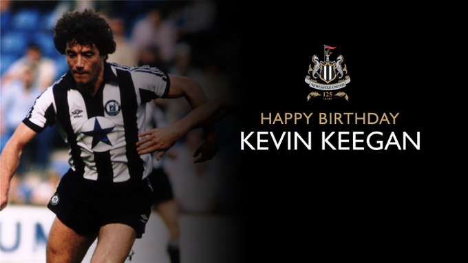 Happy birthday, Kevin Keegan! The Magpies\ former player and manager is 67 today.