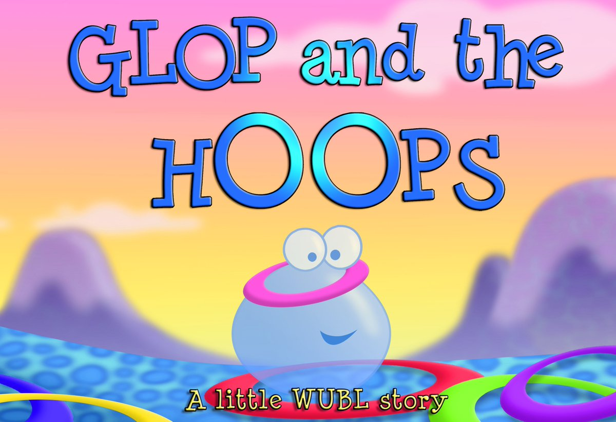 Today is #BookGivingDay 📚 across the UK so why not give our little #WUBL story #picturebook to your #children and they can go on an #adventure with Glop and a lot of colourful hoops on #WUBLWorld 😀 #earlyyears #preschool #family #fun Get your book > bit.ly/2BsUCzQ
