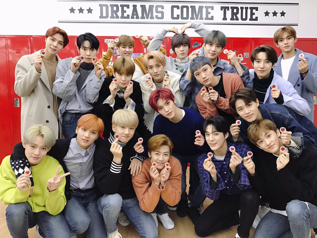 To all our NCTzens everywhere, Roses are red Violets are blue Happy Valentines Day From us to you Love, Your Valentine