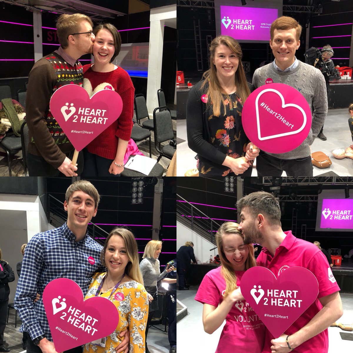Our #Heart2Heart couples session was a hit! 💕 Sessions are running until 8pm - join in! Find out how 👉 bit.ly/2mTiML9