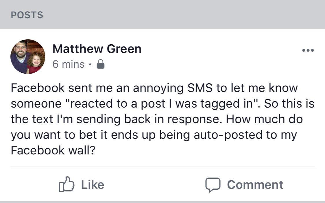 Matthew Green on Twitter: